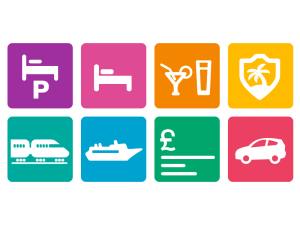 Holiday Extras Icon Design