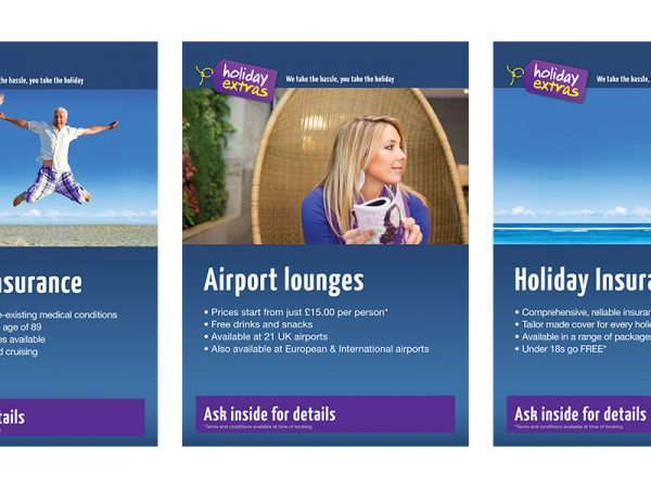 Holiday Extras Agent A3 Posters