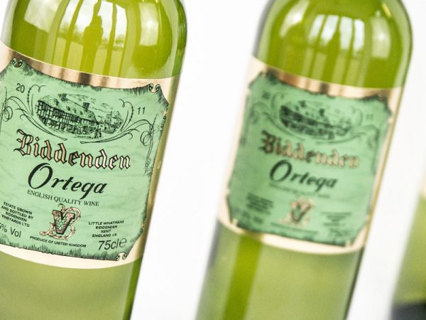 Biddenden Vineyards Ortega Label Design