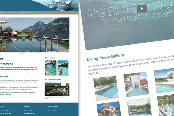 Elements of Nature Web Design and Development by Oak Creative