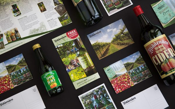 Biddenden Vineyards Design by Oak Creative