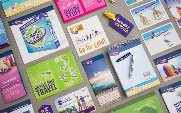 Just a few examples of our print design for Holiday Extras
