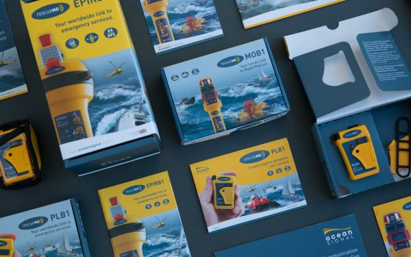 Ocean Signal Brand Design by Oak Creative