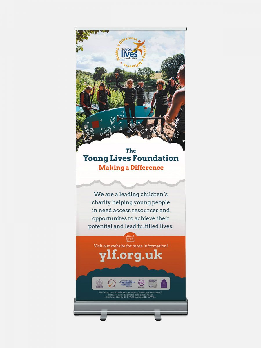 YLF Pull Up Banner