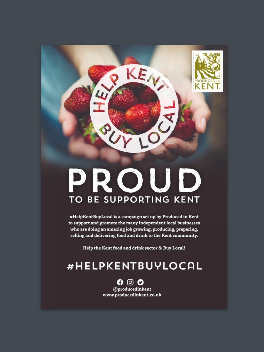 Produced in Kent Help Kent Buy Local Oak Creative