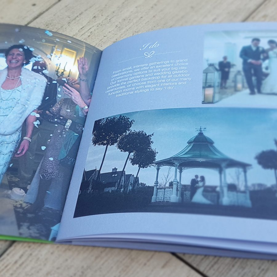 Hythe Imperial Wedding Brochure Design by Oak Creative